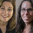 Penny Dolin, Associate Professor of Practice, and Erica Walker, Assistant Professor