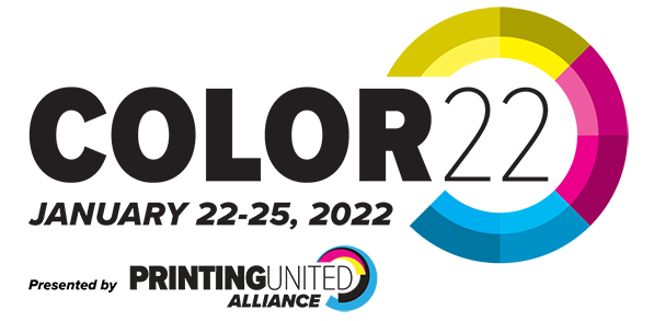 COLOR22 Conference, hosted by PRINTING United Alliance, January 22–25, 2022